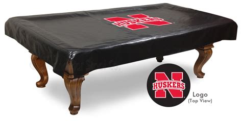 nebraska cornhuskers pool table cover billiard table covers