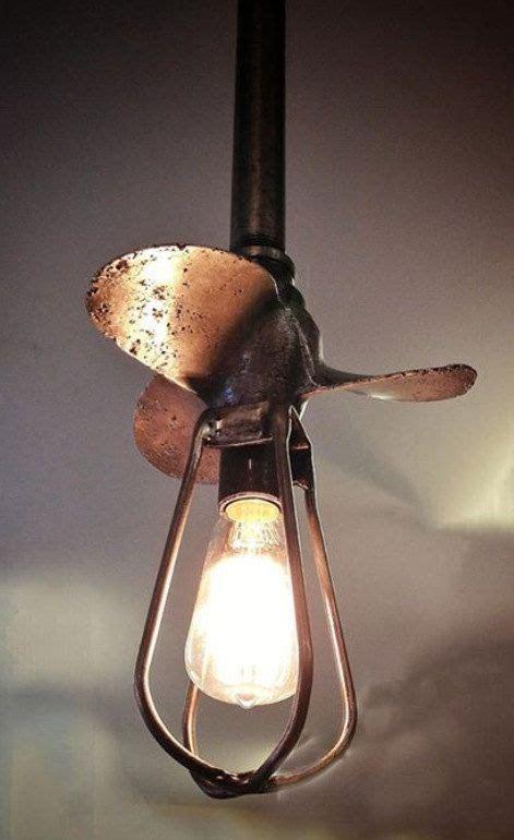 Industrial Boat propeller light by MakerofStuffShop   Let