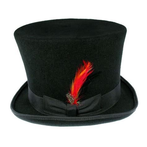 black hat b2b jaxon victorian top hat black top hats
