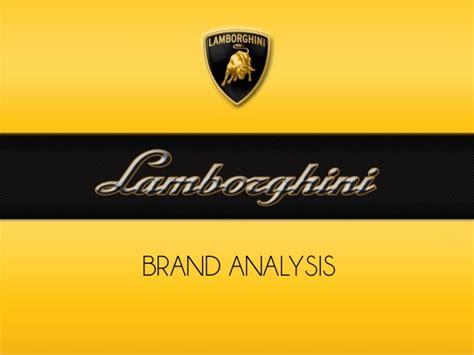 Lamborghini Marketing Strategy Lamborghini Brand Analysis