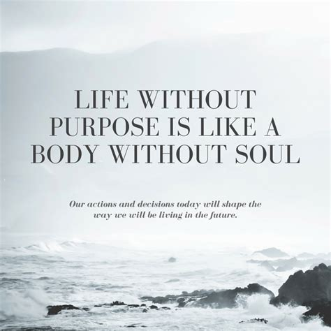 Living Without A by How To Find Your Purpose In With