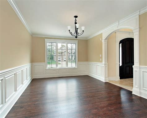 Painting Wainscoting White by White Wainscot Floors Trims Dining