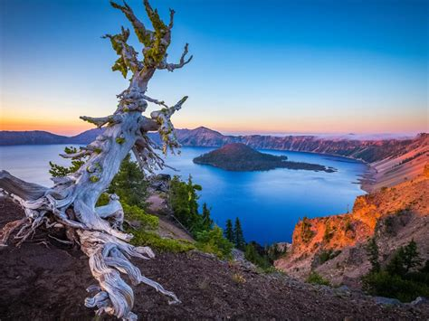crater lake national park oregon usa desktop hd wallpaper  wallpaperscom