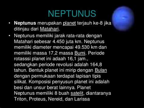 Planet Neptunus Dan Penjelasannya by Ppt Tata Surya Kelompok 6