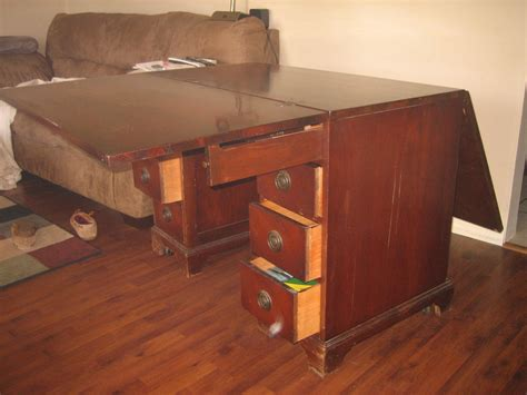 sligh furniture antique desk i think i a 1940s desk made by sligh furniture in