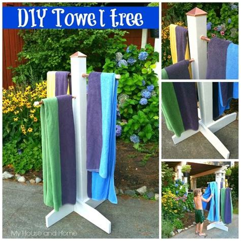Pool Towel Rack Ideas by 1000 Ideas About Towel Rack Pool On Pool