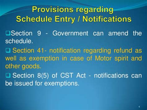 section 41 of the income tax act interpretation of schedule entries under vat or sales tax laws