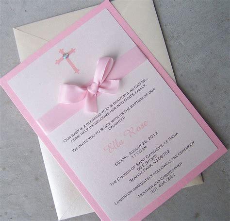 Diy Invitations by Diy Unique Baptism Invitations Style By Modernstork