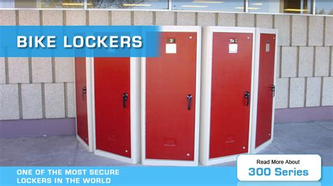 bike lockers by american bicycle security company