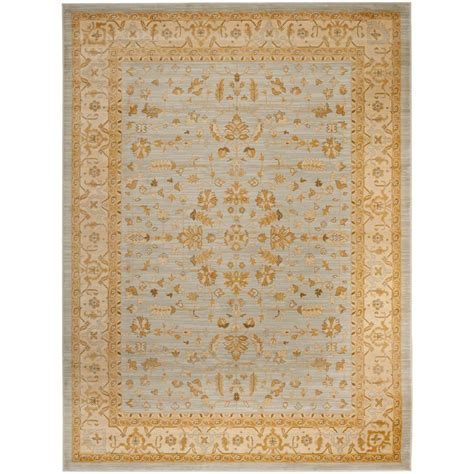 Grey And Gold Area Rugs Safavieh Light Grey Gold 8 Ft X 11 Ft Area Rug Aus1610 7920 8 The Home Depot