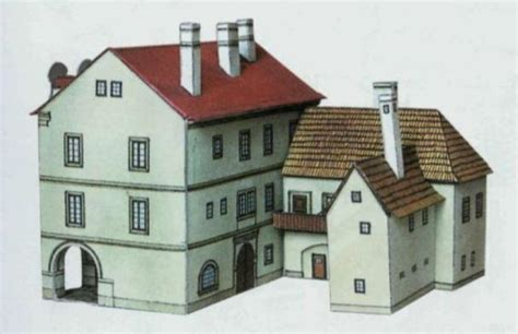 Paper Craft Buildings - new paper craft d絲m u splav 237 n絲 free building paper model