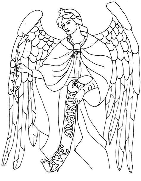 saint gabriel coloring page saint coloring coloring