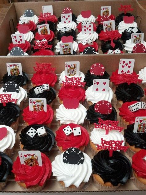 casino theme decorations casino cupcakes casino decoration ideas fathers day