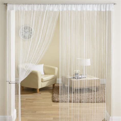 Classic String Fringe Panel Divider Window Door Curtain