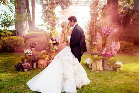 guide for the dream fairytale wedding bridal fairy hairstyle tbt to hayley paige s enchanting wedding jlm couture