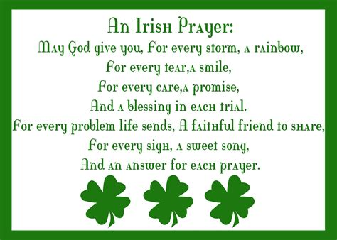 printable irish quotes irish quotes and prayers quotesgram