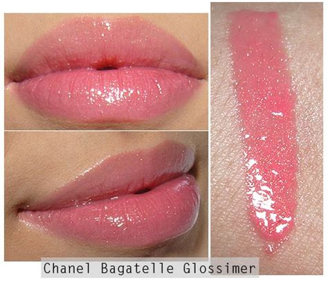 Chanel Glossimer Lip Gloss In Glaze by Chanel Bagatelle Glossimer Swatches Everything Beautiful