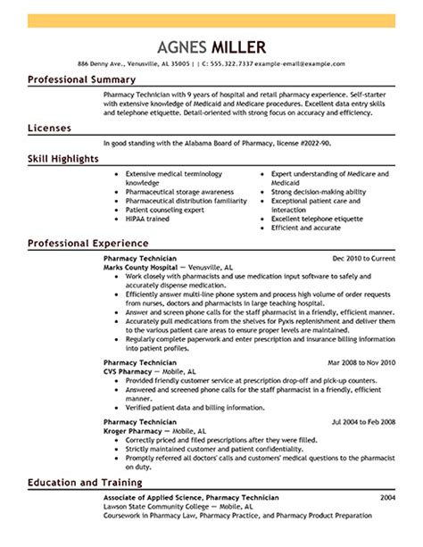 resume for lab technician with no experience fresh sample pharmacy