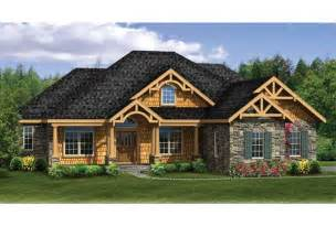 House Plans With Walkout Basement Eplans Craftsman House Plan Craftsman Ranch With