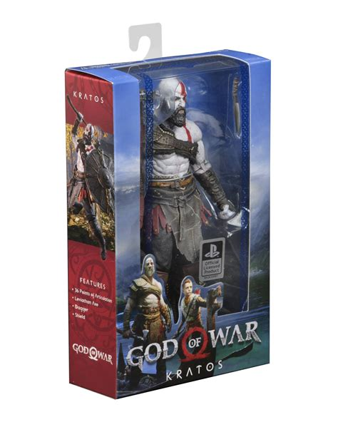 figure packaging god of war 4 kratos 7 inch scale figure in packaging the