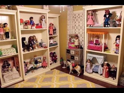 american girl doll house tours huge american girl doll house room tour huge youtube