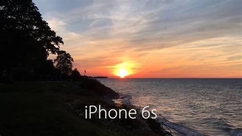 iphone 6s vs iphone 6 time lapse at sunset