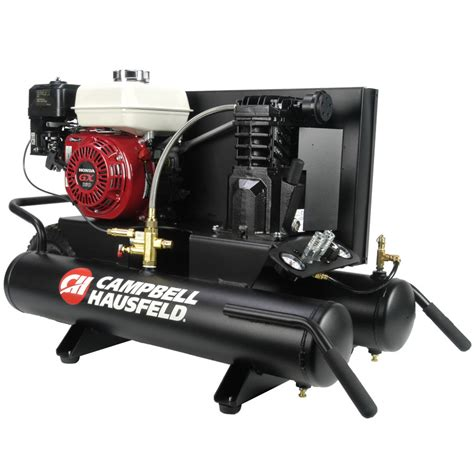 honda wheelbarrow air compressor 8 gal cbell hausfeld ce2000