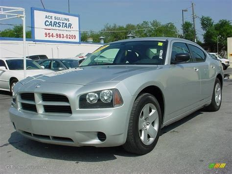 2008 silver dodge charger 2008 bright silver metallic dodge charger package