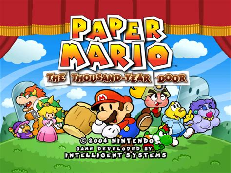 Paper Mario And The Thousand Year Door by Rumor Paper Mario The Thousand Year Door 3d Leaked