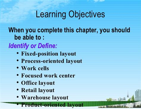 fixed layout definition layout strategy ppt bec doms