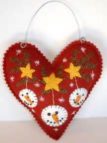wool felt ornament