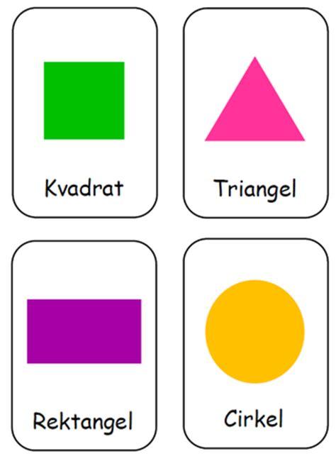 pedagogisk planering i skolbanken: geometri och mönster