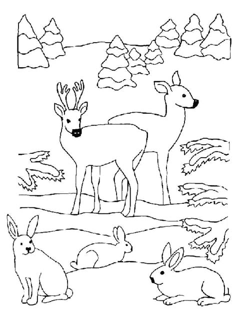 christmas coloring pages with animals christmas animals coloring pages