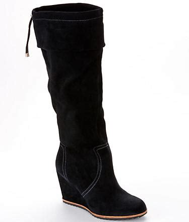dr scholl s inka suede wedge boots shoes 334845 at