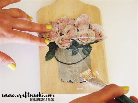 Decoupage Wrinkles - craftmunki 4 effective methods to decoupage napkins