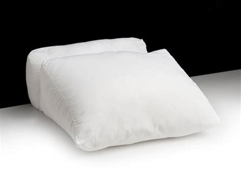 upright bed pillow 4 flip wedge pillow
