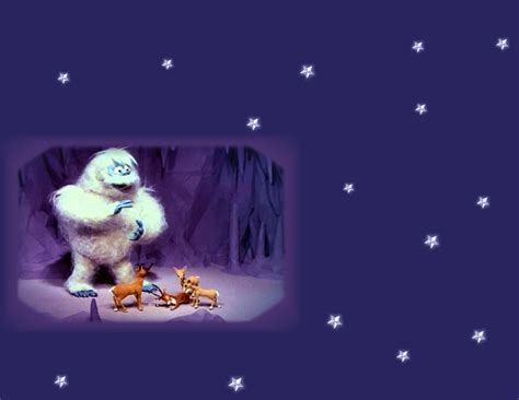 christmas wallpaper rudolph rudolph the abominable snowman 171 graphics wallpaper