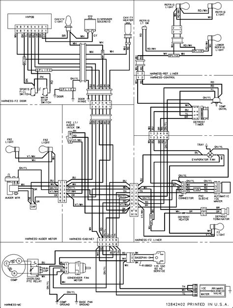schematic diagram samsung refrigerator circuit and