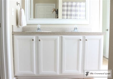 paint finish for bathrooms painting a bathroom cabinet with general finishes milk