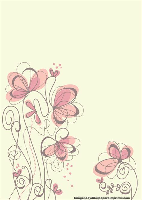 flores de hojas para imprimir imprimir gratis hojas con fondos flores de papel