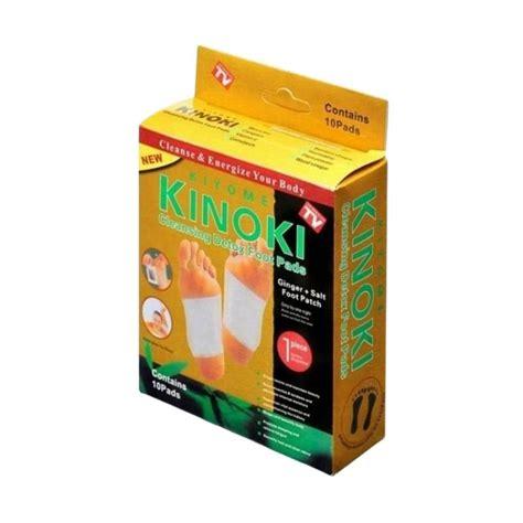 Harga Kinoki Detox Foot Patch by Jual Hbs Kinoki Foot Patch Koyo Detox Gold 1 Box Isi 10