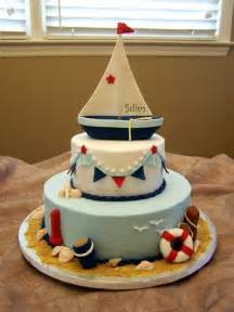 Nautical theme cake i would want this shower and nursery theme