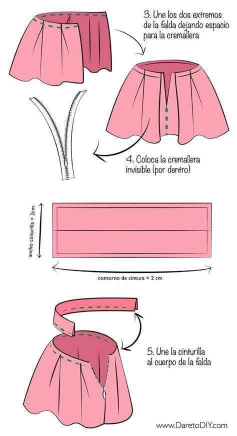 como hacer una falda cana media las 25 mejores ideas sobre falda de tablas en pinterest