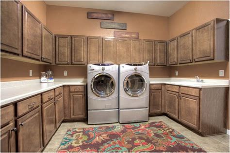 colorado luxury homes traditional laundry room