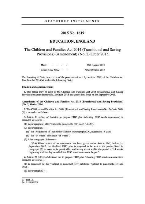 timescales transferring statement ehc plan edyourself