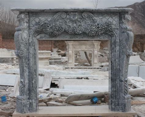 traditional style carved marble fireplace mantel carved marble fireplace mantel with floral carvings