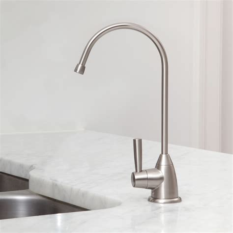 Water Filters For Faucets by Counter Water Filter With Brushed Nickel Faucet