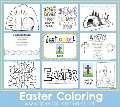 printable christian easter activity sheets free easter coloring pages easter colouring easter