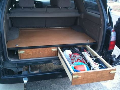 Suv Storage Drawer Plans by The World S Catalog Of Ideas