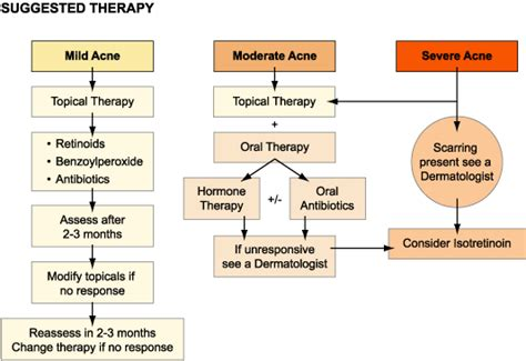 cystic acne diagram what works best prescription acne medications acne org